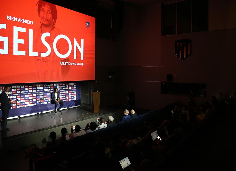 temporada 18/19. Presentación Gelson Martins en el Wanda Metropolitano