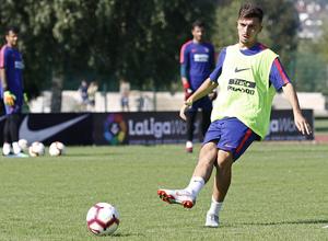 temporada 18/19. Entrenamiento en Brunico. Joaquín Muñoz