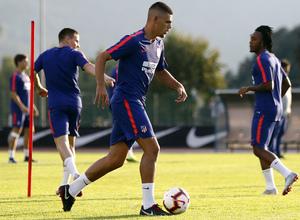 temporada 18/19. Entrenamiento en Brunico. Montero