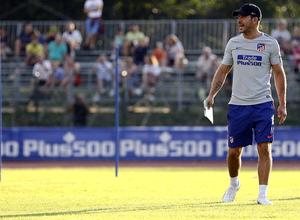 temporada 18/19. Entrenamiento en Brunico. Simeone