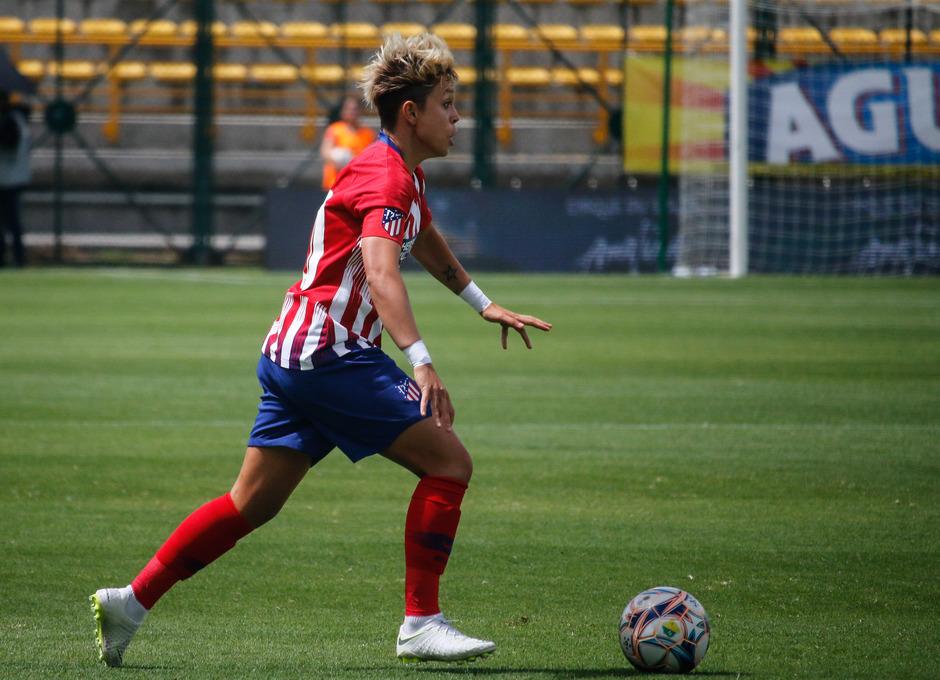 Temporada 18/19. Atlético de Madrid Femenino en Colombia en pretemporada frente al Atlético Huila. Amanda Sampedro
