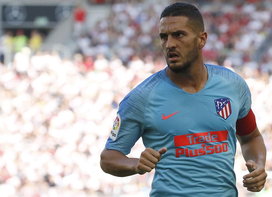 Temporada 2018-2019 | Stuttgart - Atlético de Madrid | Koke
