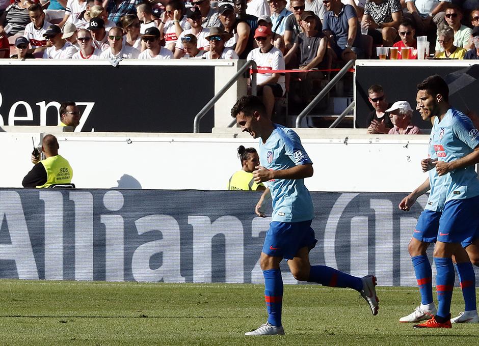 Temporada 2018-2019 | Stuttgart - Atlético de Madrid | Joaquín