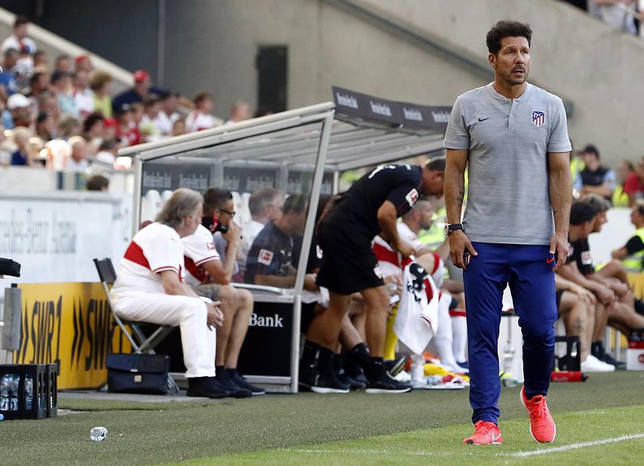 Temporada 2018-2019 | Stuttgart - Atlético de Madrid | Simeone