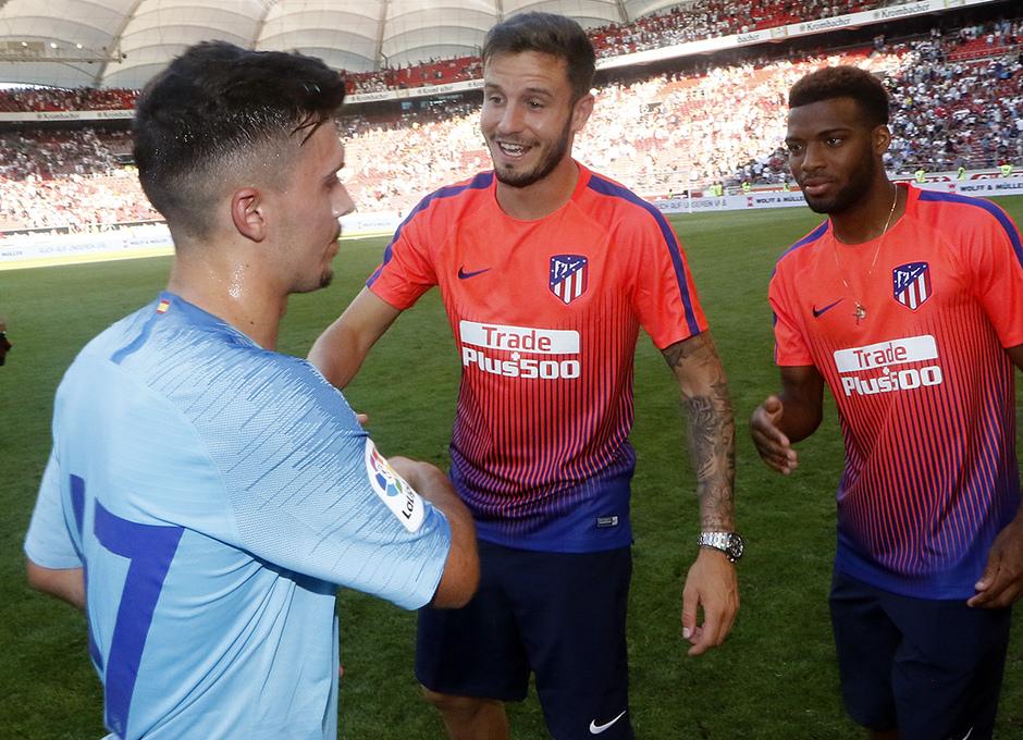 Temporada 2018-2019 | Stuttgart - Atlético de Madrid | Joaquín Saúl Lemar