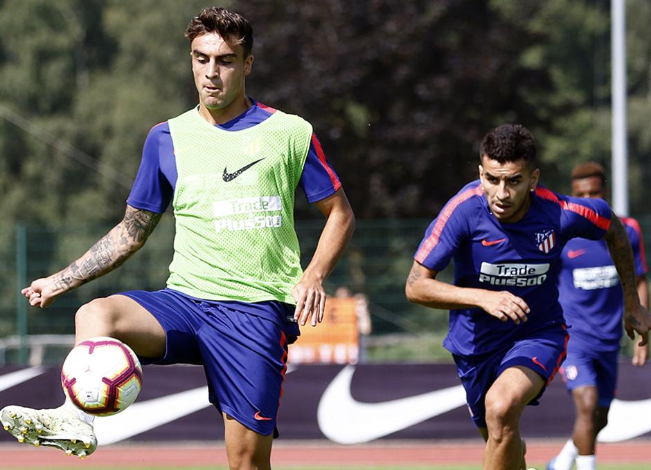 Temporada 2018-2019 | Brunico | Entrenamiento | Carlos Isaac y Correa