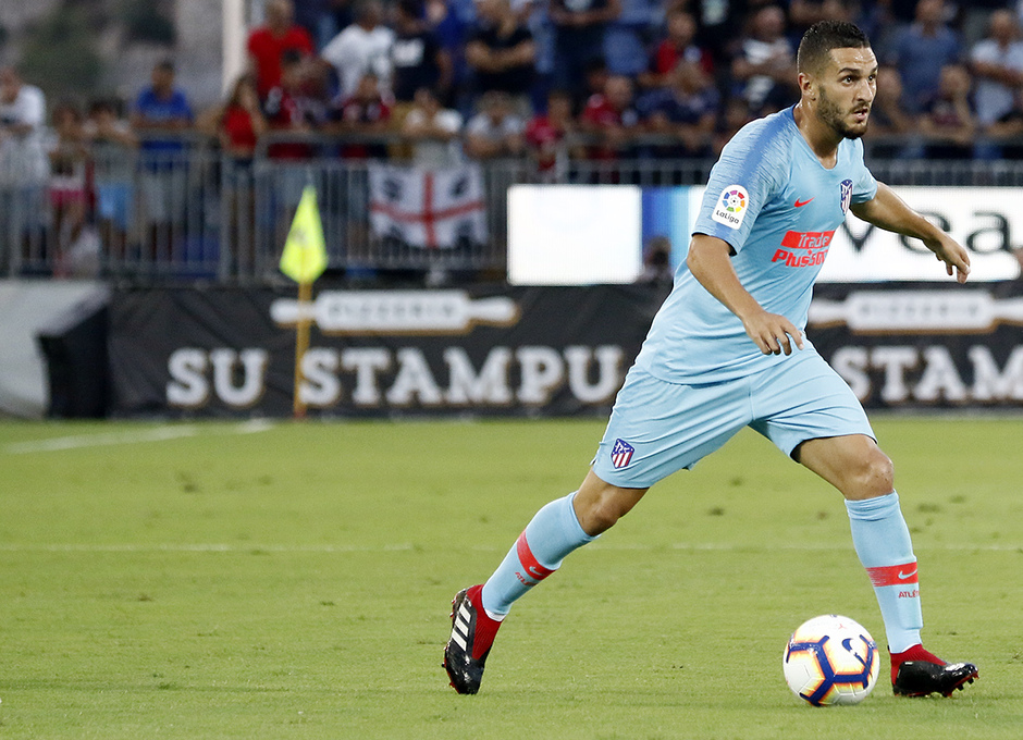 Temporada 2018-2019 | Cagliari-Atlético de Madrid | Koke