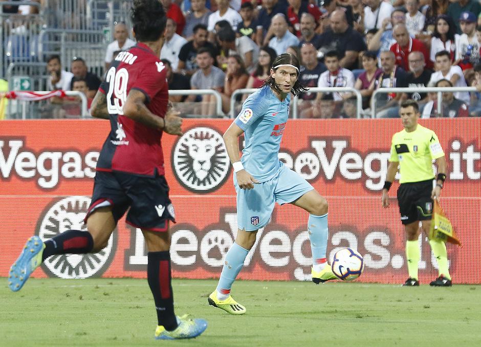 Temporada 2018-2019 | Cagliari-Atlético de Madrid | Filipe Luis
