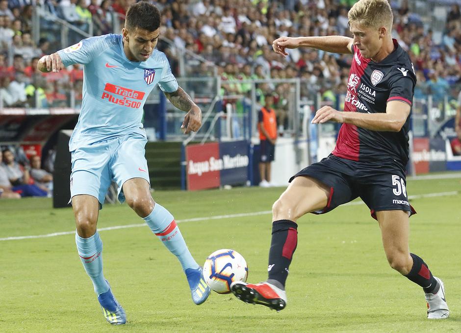 Temporada 2018-2019 | Cagliari-Atlético de Madrid | Correa