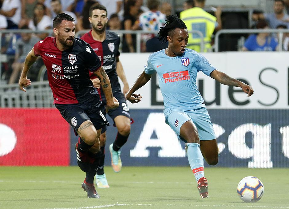 Temporada 2018-2019 | Cagliari-Atlético de Madrid | Gelson Martins