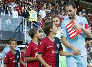 Temporada 2018-2019 | Cagliari-Atlético de Madrid | Godín