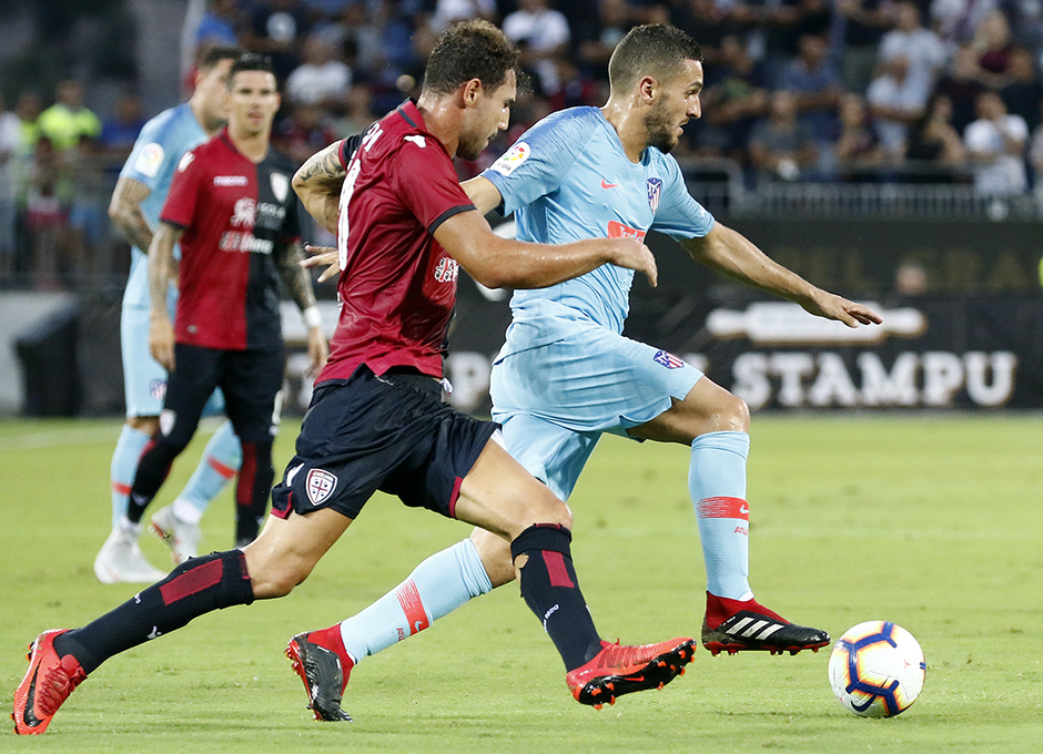 Temporada 2018-2019   Cagliari-Atlético de Madrid   Koke