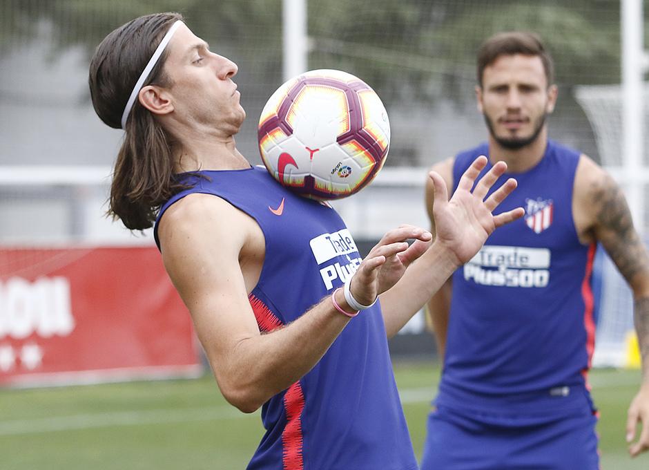 Temporada 18/19 | Entrenamiento del primer equipo | Filipe Luis