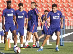 Temporada 2018-2019 | Entrenamiento Ciudad Deportiva Wanda | Correa