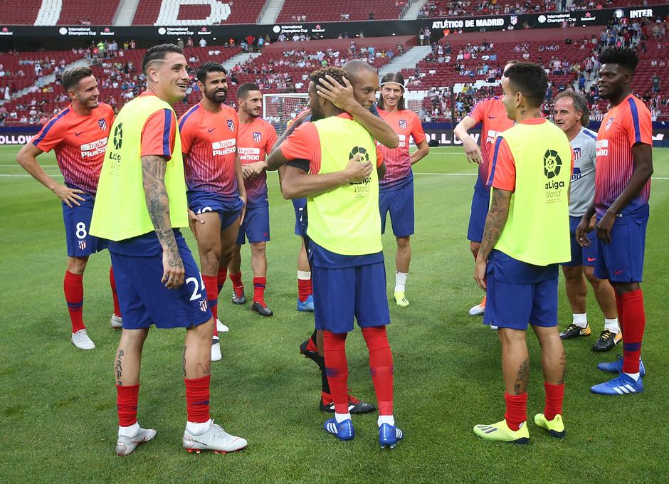 Temporada 2018-2019 | Atlético de Madrid - Inter de Milán | Miranda