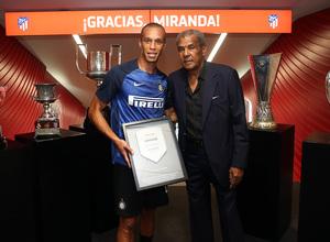 Temporada 2018-2019 | Atlético de Madrid - Inter | Miranda