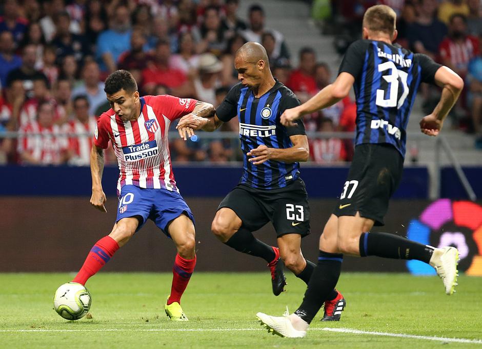 Temporada 2018-2019   Atlético de Madrid - Inter   Correa