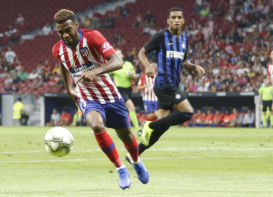 Temporada 2018-2019   Atlético de Madrid - Inter   Lemar