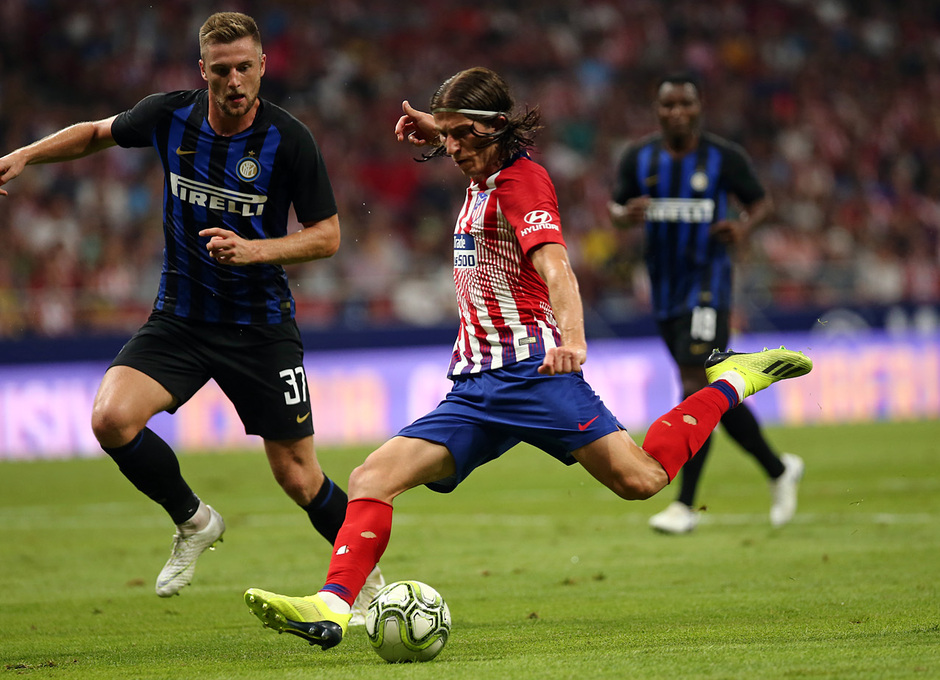 Temporada 2018-2019 | Atlético de Madrid - Inter | Filipe Luis