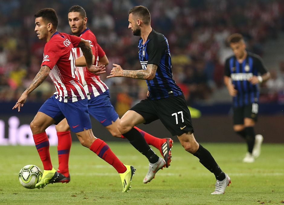 Temporada 2018-2019 | Atlético de Madrid - Inter | Correa, Koke