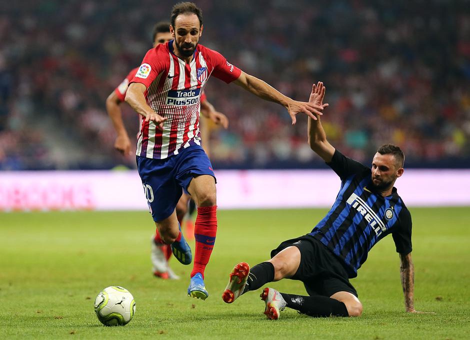 Temporada 2018-2019   Atlético de Madrid - Inter   Juanfran