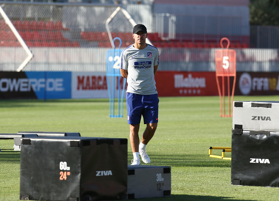 Entrenamiento 13-08-2018 | Simeone