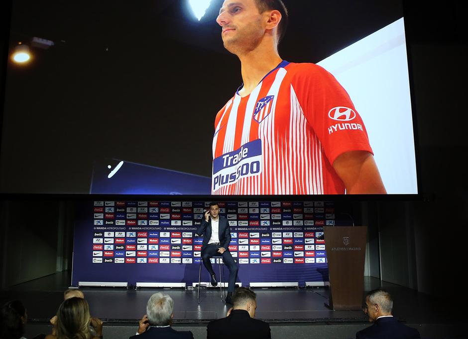 Temp. 18-19 | Presentación de Nikola Kalinic en el Wanda Metropolitano |
