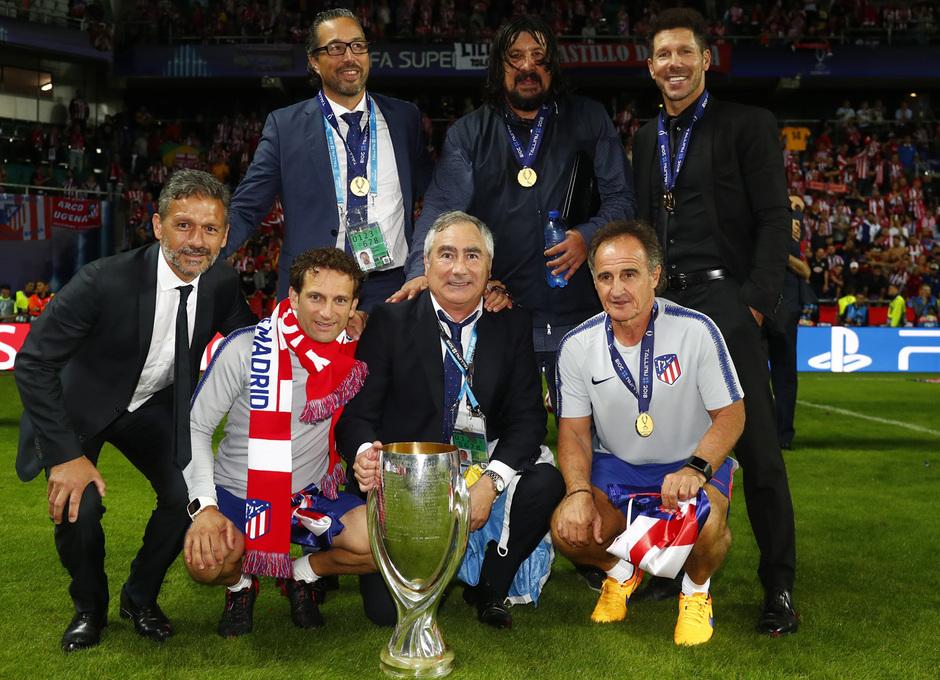 temporada 18/19. Supercopa de Europa. Cuerpo técnico