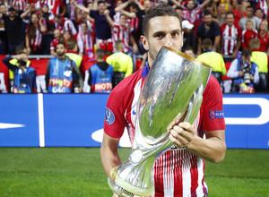 temporada 18/19. Supercopa de Europa. Koke