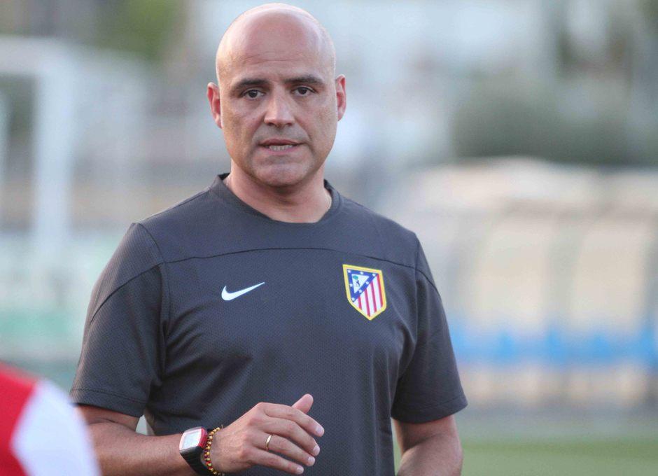 Temporada 2013-2014. Jesús Núñez dirige el primer entrenamiento de pretemporada