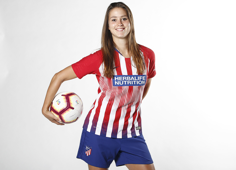 Shooting | Sesión de fotos del Atlético de Madrid Femenino. Viola Calligaris