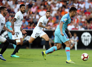 Temp. 18/19 | Valencia - Atlético de Madrid | Correa gol