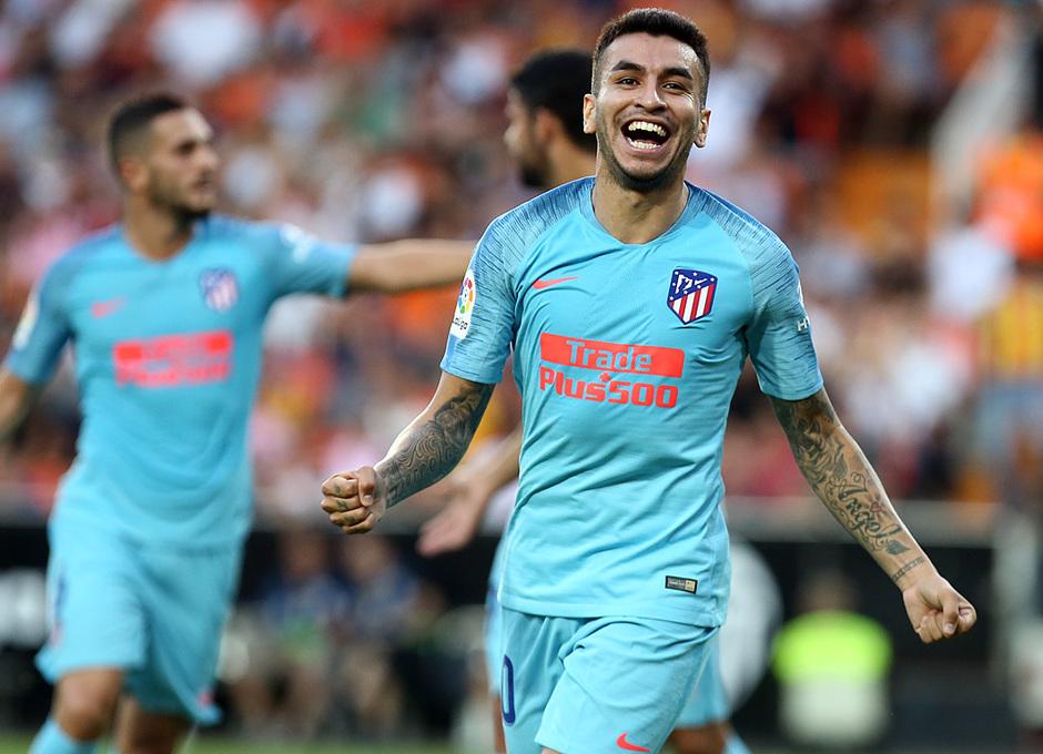 Temp. 18/19 | Valencia - Atlético de Madrid | Correa celebración 1