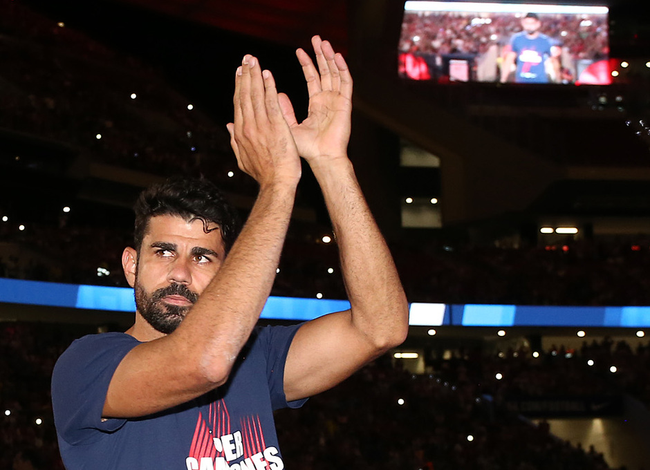 Temporada 2018-2019 | Celebración Supercopa de Europa | Diego Costa