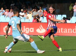Temporada 2018-2019   Celta - Atlético de Madrid   Filipe Luis