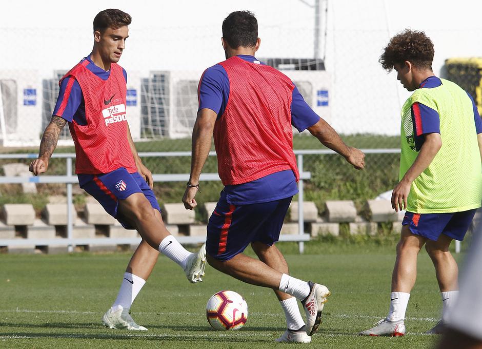 Temporada 18/19 | 04/09/2018 | Entrenamiento en el Wanda Metropolitano | Carlos Isaac