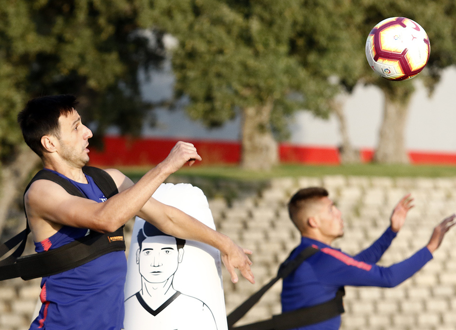 Temporada 18/19 | 05/09/2018 |  Entrenamiento en la Ciudad Deportiva Wanda | Kalinic