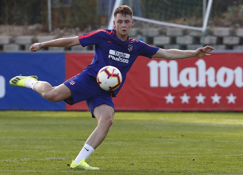 Temporada 18/19. Entrenamiento en la ciudad deportiva Wanda Atlético de Madrid. 06_09_2018. Borja Garcés.