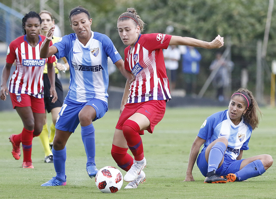 Temporada 2018-2019   Málaga CF Femenino - Atlético de Madrid Femenino   Carmen Menayo