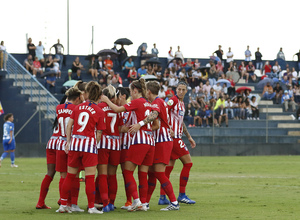 Temporada 2018-2019   Málaga CF Femenino - Atlético de Madrid Femenino   Grupo celebración