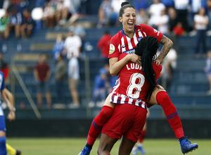 Temporada 2018-2019   Málaga CF Femenino - Atlético de Madrid Femenino   Jenni y Ludmila