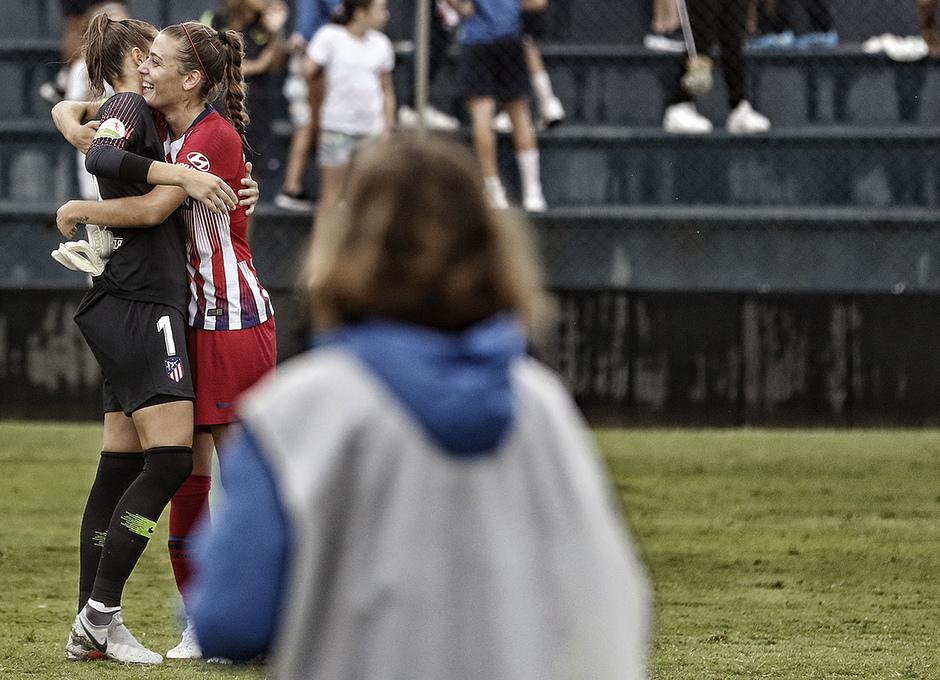Temporada 2018-2019 | La otra mirada | Málaga CF Femenino - Atlético de Madrid Femenino | Lola y Carmen Menayo