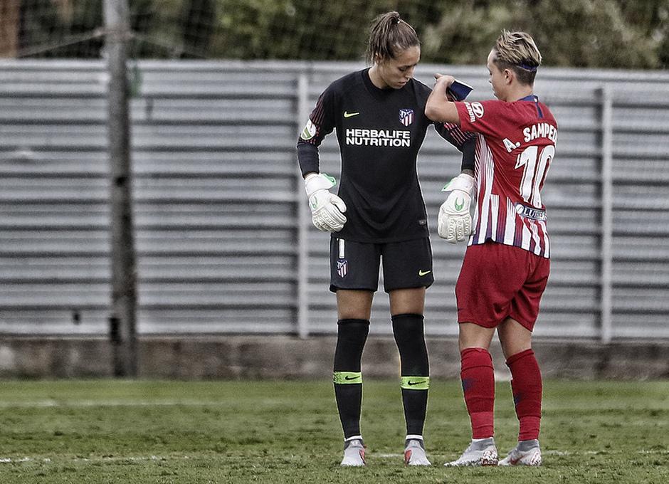 Temporada 2018-2019 | La otra mirada | Málaga CF Femenino - Atlético de Madrid Femenino | Amanda y Lola