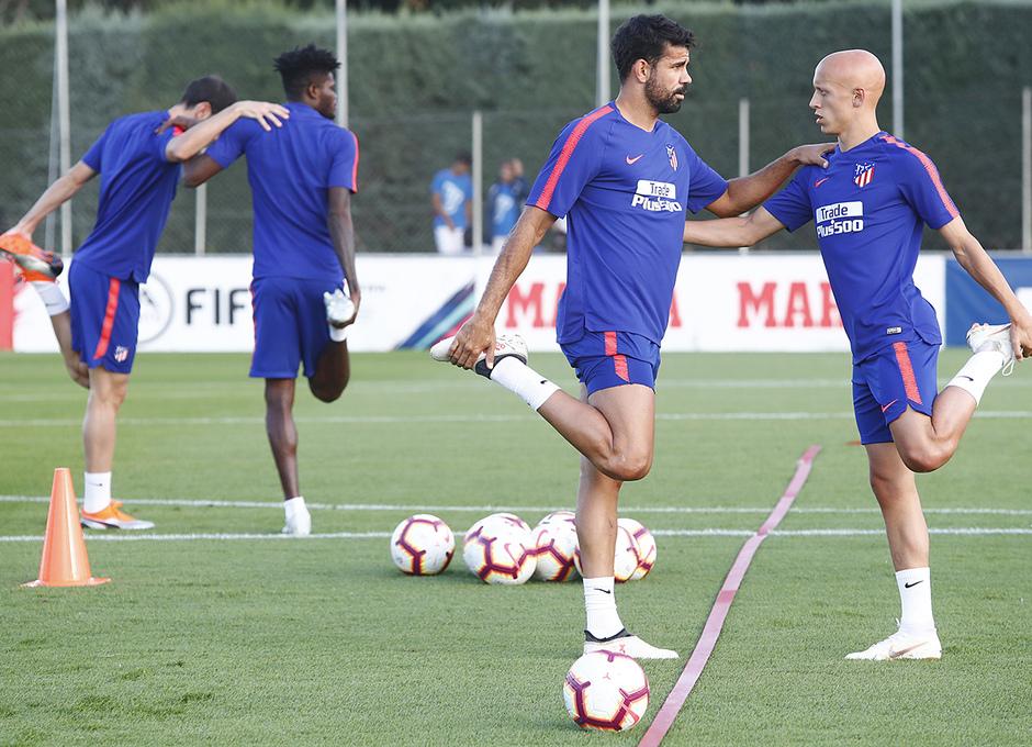 Entrenamiento 10-09-2018 | Costa y Mollejo