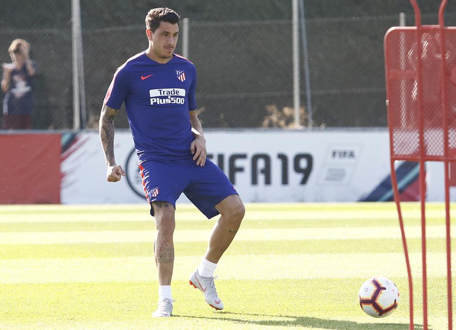 Temporada 18/19 | Entrenamiento del primer equipo | 12/09/2019 | Giménez