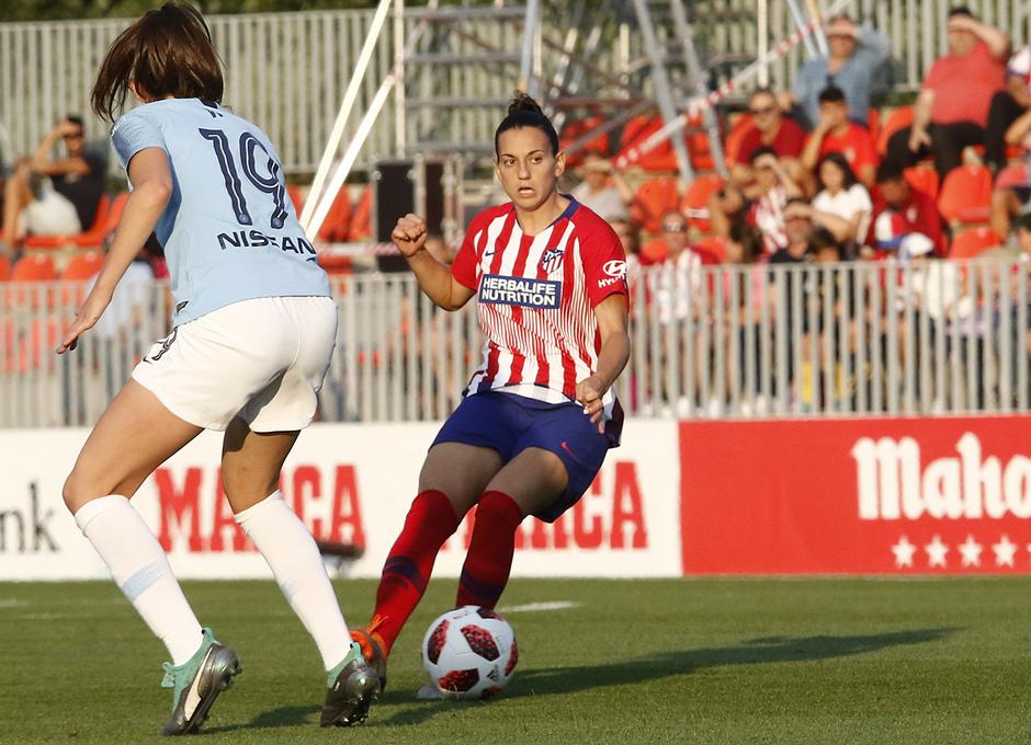 Temporada 18/19 | Atlético de Madrid Femenino - Manchester City | Kaci