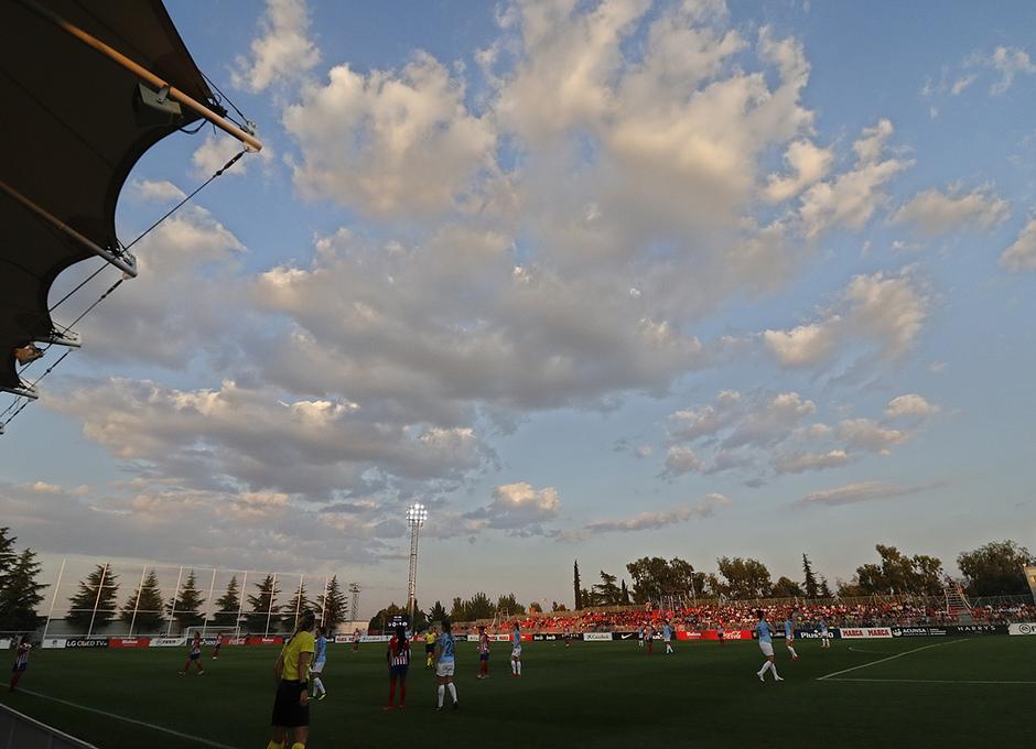 Temporada 2018-2019 | Atlético de Madrid Femenino - Manchester City Femenino | Estadio