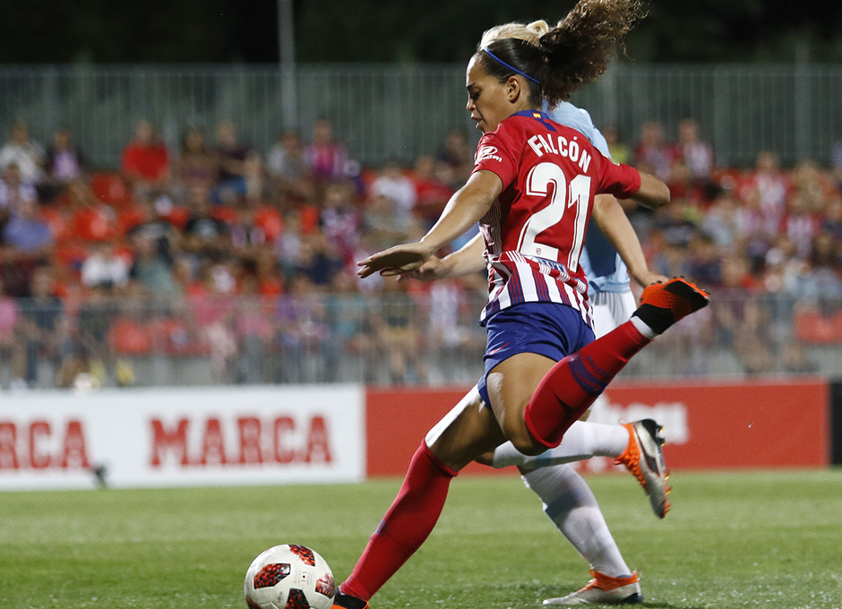 Temporada 2018-2019 | Atlético de Madrid Femenino - Manchester City Femenino | Andrea Falcón