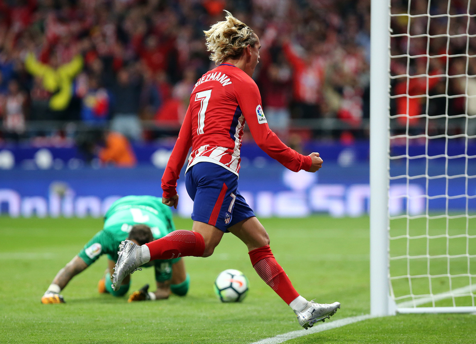 Wanda Metropolitano Griezmann primer gol