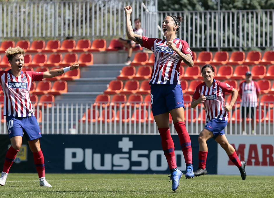 Temporada 2018-2019 | Atlético de Madrid Femenino - Logroño | Jennifer Hermoso
